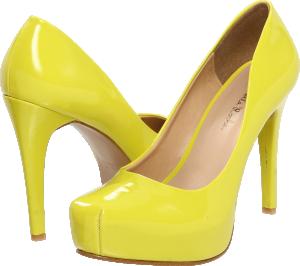 Обувки на високи токчета