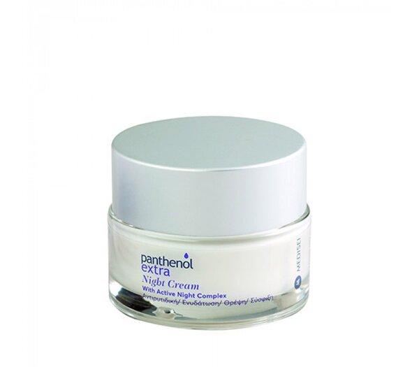 Нощен anti-aging крем за лице с Active night complex, Panthenol Extra,  50ml