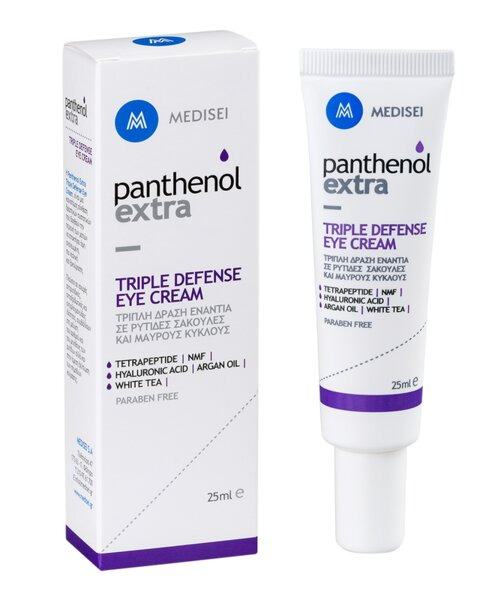 Anti-aging крем за околоочен контур Triple Defence, Panthenol Extra, 30ml