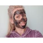 Черна дълбокопочистваща маска за лице с активен въглен Panthenol Extra, 75ml