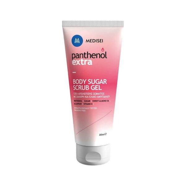 Ексфолиращ гел за тяло Panthenol Extra, 200 ml