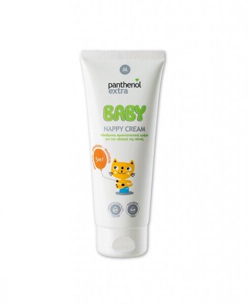 Бебешки крем против подсичания, обриви и раздразнения Panthenol Extra Nappy Cream, 100ml