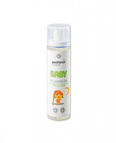 Бебешко успокояващо олио за масаж Panthenol Extra Baby Relaxing Oil, 100ml