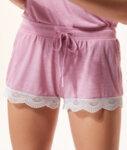 WARM DAY Къс панталон от вискоза