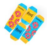 Freshly Made Scented Donut Socks | 2 Pairs
