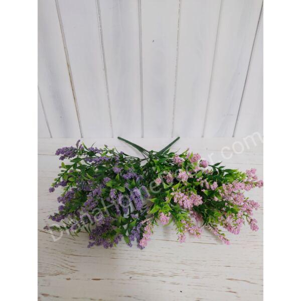 изкуствен букет трева със стиропорен цвят
