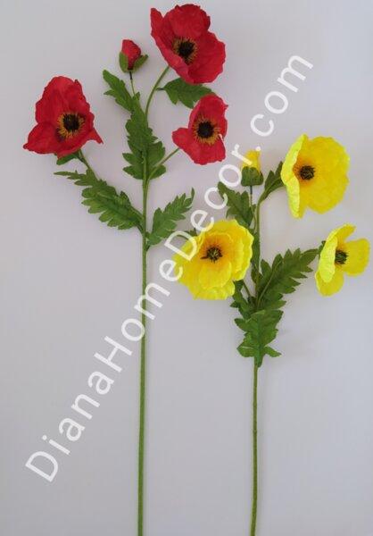 изкуствено цвете мак