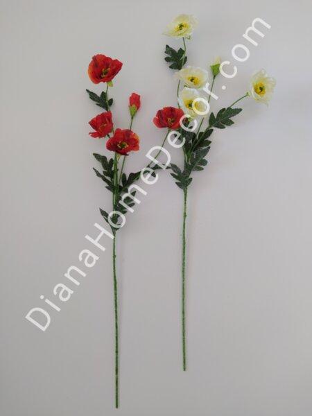 изкуствено цвете мак малък