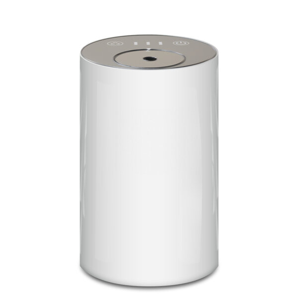 Арома небюлайзер, вградена батерия, преносим, USB, бял