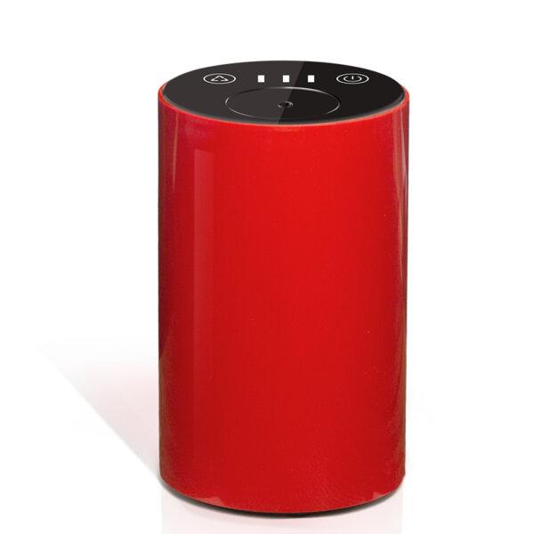 Арома небюлайзер, вградена батерия, преносим, USB, червен