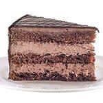 Сахер - наситен вкус на шоколадова сметана и сочни шоколадови блатове с парченца орехи и ароматно сладко от смокини