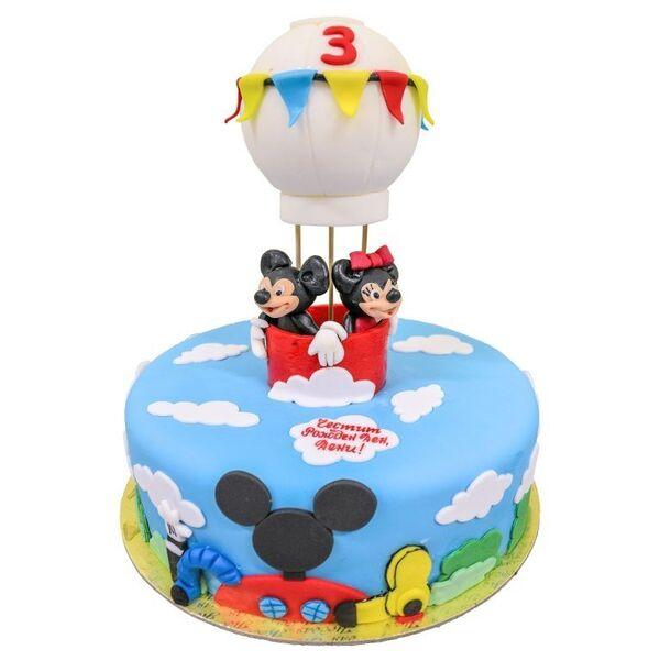 Мики Маус с балон