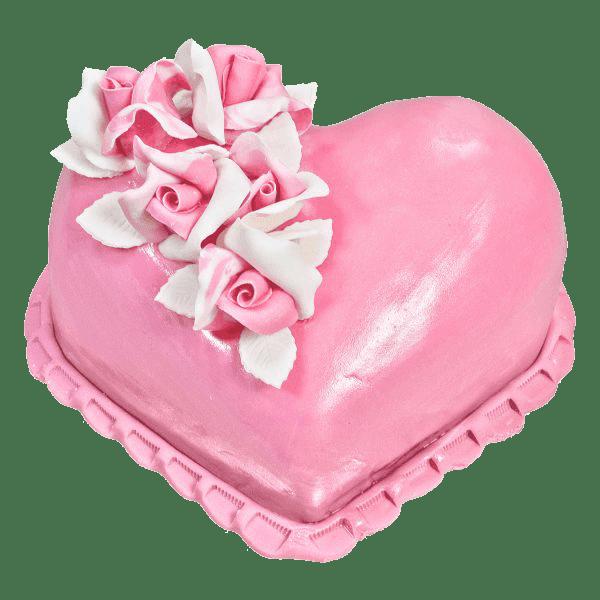 Сърце  розово