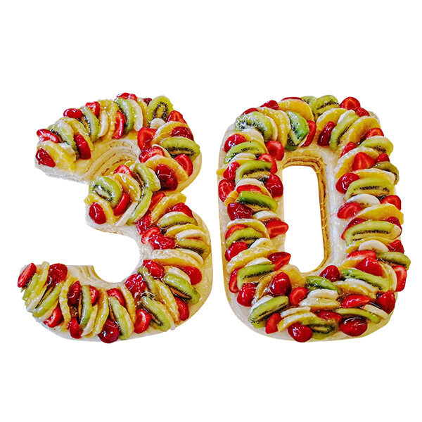 Плодова пита -Цифра