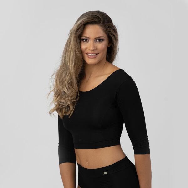 Къса блуза със скрити шевове– HOSHI Sleeve Top