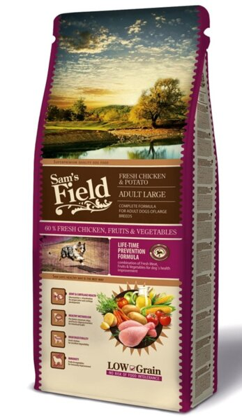 SAM´S FIELD@ Dog Fresh Chicken & Potato Adult Large