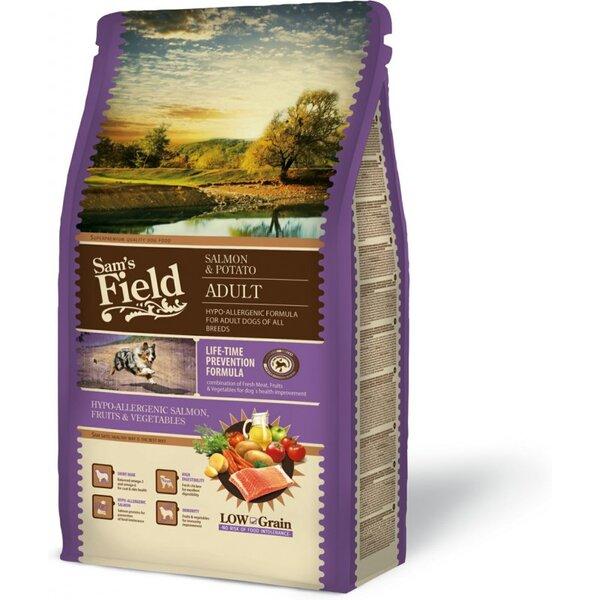SAM´S FIELD@ Dog Salmon & Potato Adult/ Hypo-allergenic 13 кг.