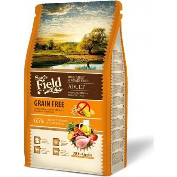 SAM´S FIELD@ Grain Free Chicken 13 кг.