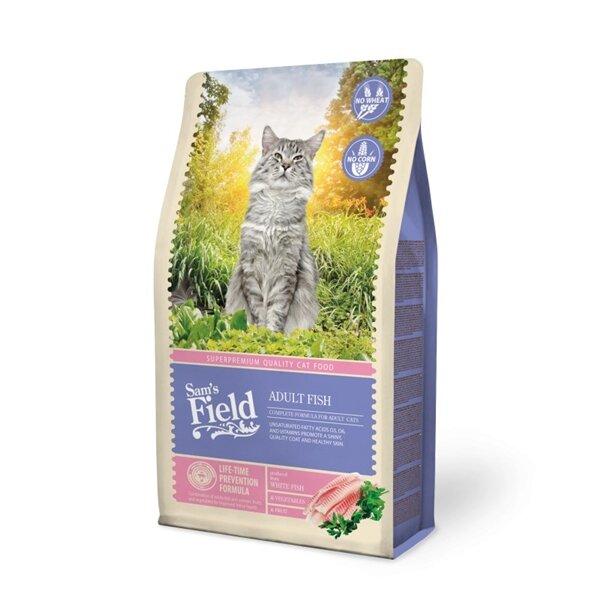 SAM´S FIELD@  Cat Adult Fish - 7,5 кг.
