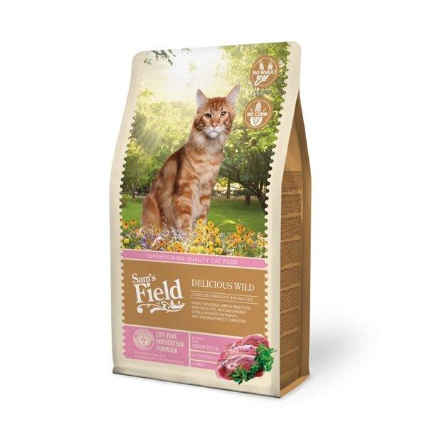 SAM´S FIELD@  Cat Delicios Wild - 7,5 кг.