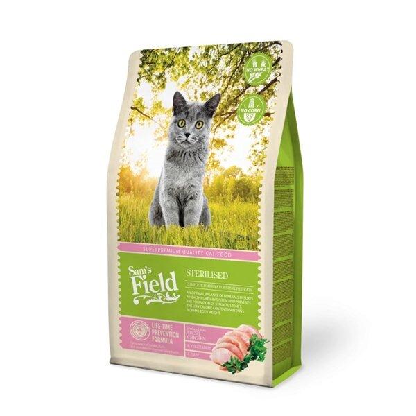 SAM´S FIELD@  Cat Sterilized - 7,5 кг.