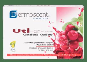 Dermoscent Uti-Zen – Хранителна добавка за кучета с уринарни проблеми - 30 таблетки