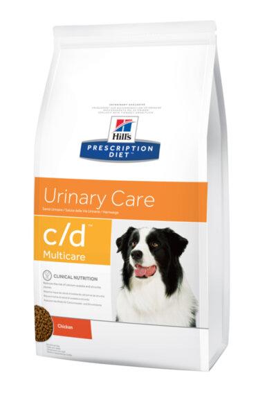 Hills Prescription Diet c/d - Струвитни уролити и профилактика на оксалатни уролити при кучета.