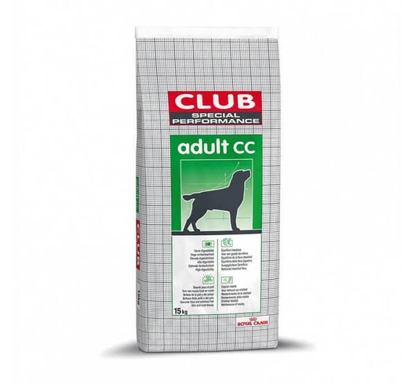 Royal Canin@ Club Adult CC - Пълнпценна храна за пораснали, нормално активни кучета от всички породи.