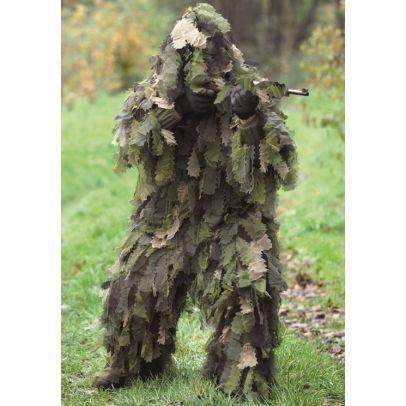 Немски гили костюм OAK LEAF 3D