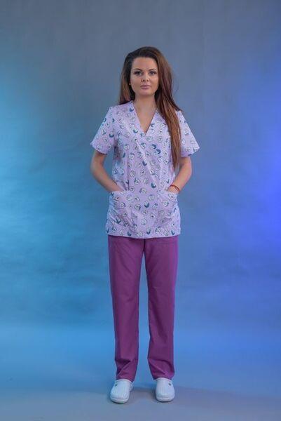 Медицинско облекло - медицинска щампа - Model 015