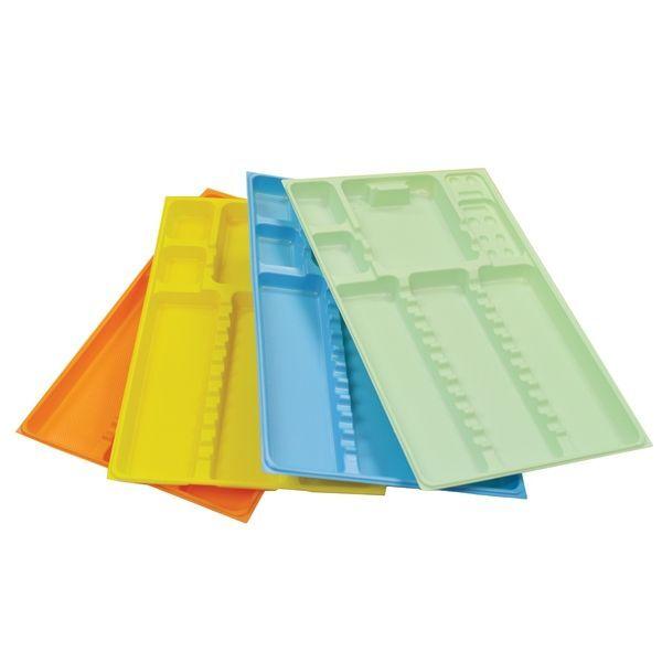 Еднократни тавички за инструменти 28.4 × 18.3 × h 1.7 см