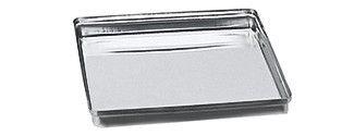 85.142.20 NORM-TRAY-COVER, съсOUT PERзаATION, неръждаема стомана, 18 X 14 X 2,5CM