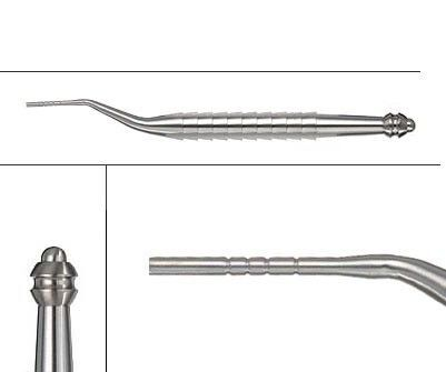 47.943.20 OSTEOTOME INSTRUMENT, CONCAVE, ANGULATED CONCAVE, сменяем ?2.00 COLOURLESS MARK, за IMPLANTS със ?2.0