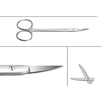 46.221.12 Ножица за орална хирургия,  TOWERPOINT, 12CM