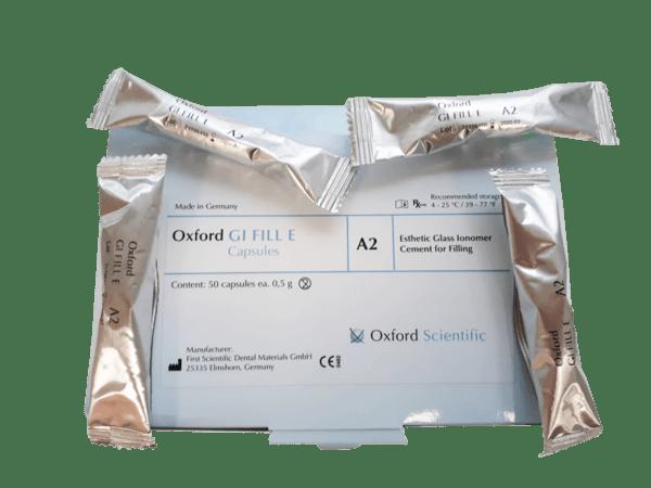 Цимент гласйономерен Oxford GI FILL Estetique капсули