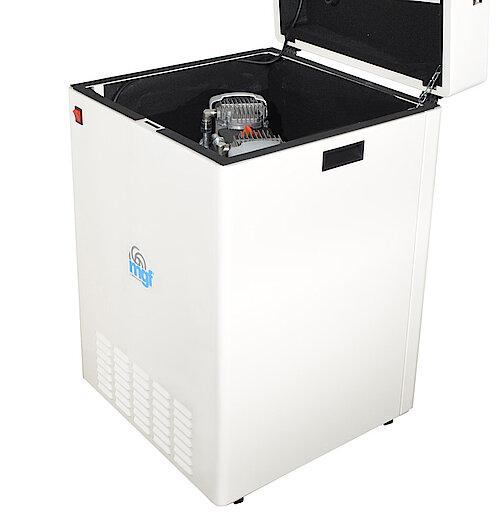 Безмаслен компресор модел MINI BOX 24/10 GENESI S подходящ за 1-2 дентални юнита