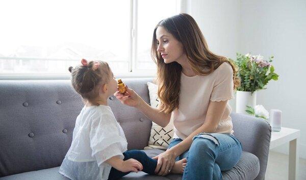 Зимна ароматерапия за деца