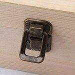Синмка на механизма на дървената кутия за етерични масла - 74 слота