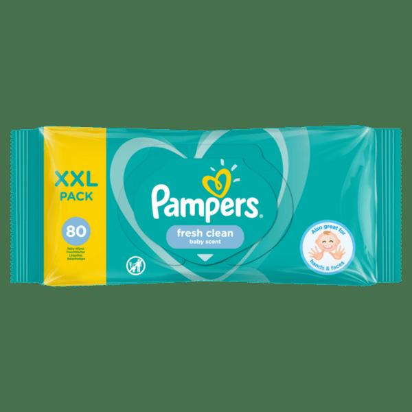 Мокри кърпи PAMPERS Baby Fresh 80 бр