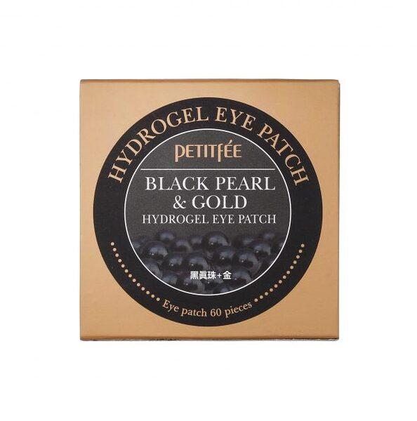 PETITFEE Black Pearl & Gold Hydrogel Eye Patch, 60 p