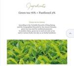 Beauty of Joseon - Calming Serum : Green tea + Panthenol (30ml)