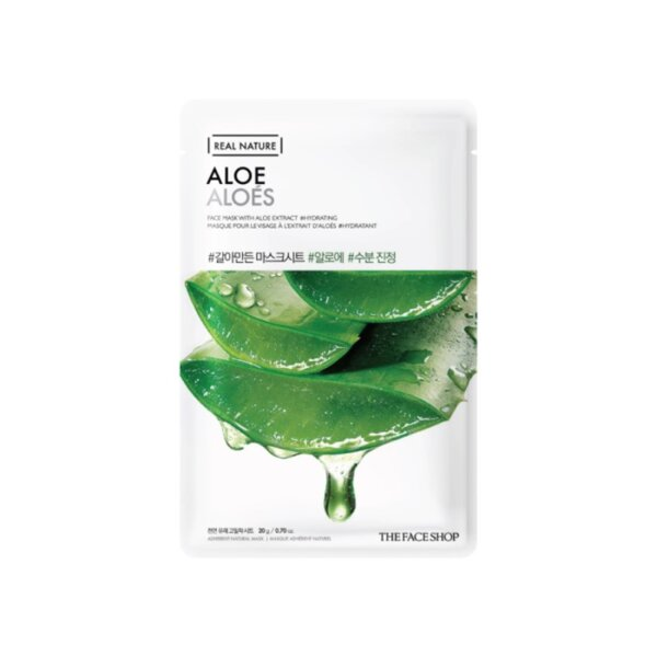 THE FACE SHOP REAL NATURE - Aloe, 20 g