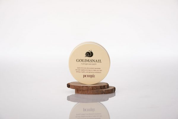 PETITFEE Gold & Snail Hydrogel Eye Patch, 60 p