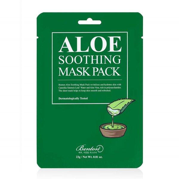 BENTON Aloe Soothing Mask Pack, 23 g