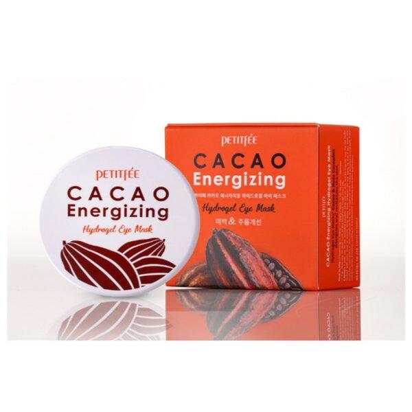 PETITFEE Cacao Energizing Hydrogel Eye Mask, 60 p