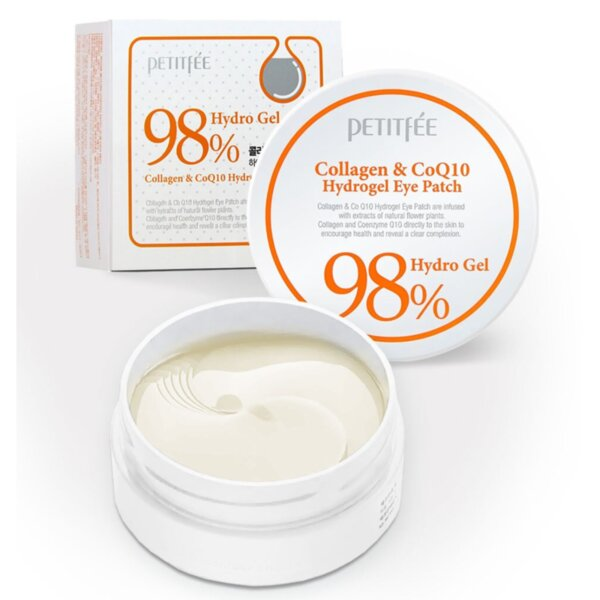 PETITFEE Collagen & CoQ10 Hydrogel Eye Patch, 60 p