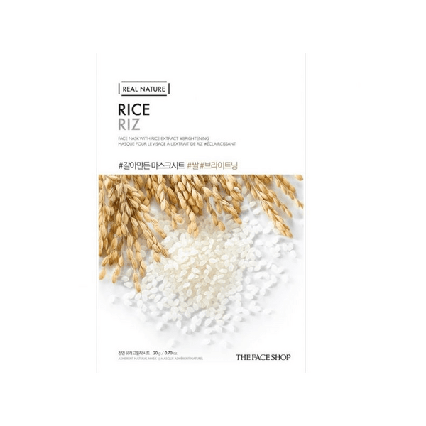 THE FACE SHOP REAL NATURE - Rice, 20 g