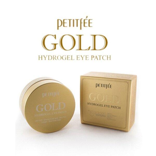 PETITFEE Gold Hydrogel Eye Patch, 60 p
