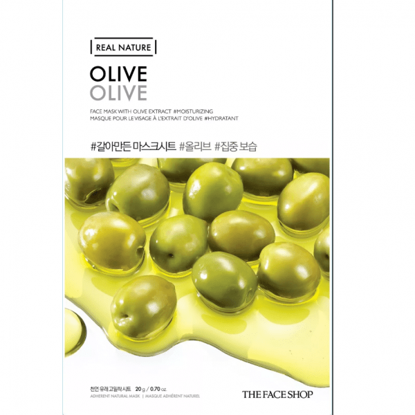 THE FACE SHOP REAL NATURE - Olive, 20 g