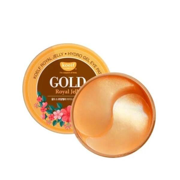 KOELF Gold & Royal Jelly Hydrogel Eye Patch, 60 p